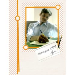 "Scrapbook template ""Career firsts #15"" in ""Firsts"""