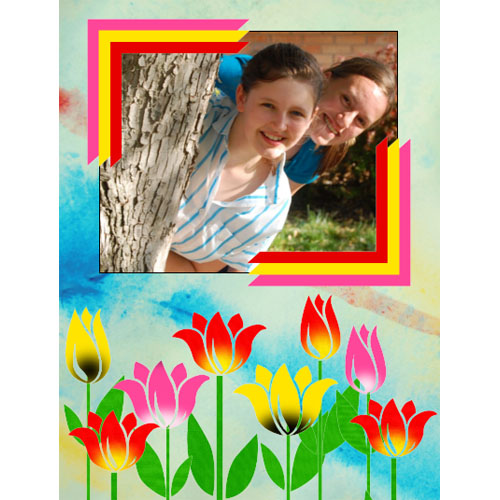 "Scrapbook template ""Spring #22"" in ""Spring"""