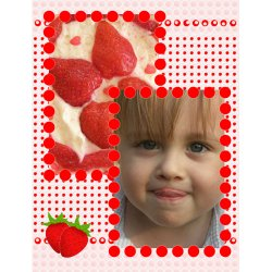 "Scrapbook template ""Food #01"" in ""Food"""