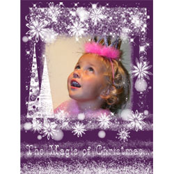 "Scrapbook template ""Christmas 2009 #14"" in ""Christmas Scrapbooking"""