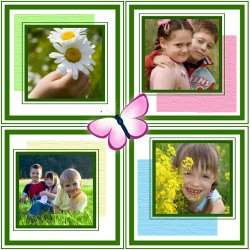 "Scrapbook template ""Spring #10"" in ""Spring"""
