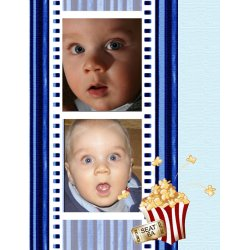 "Scrapbook template ""Cinema #09"" in ""Fan Pages"""
