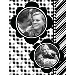 "Scrapbook template ""Black&White #11"" in ""Black&White"""