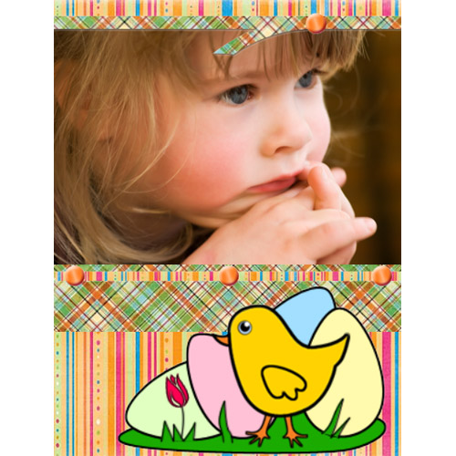 "Scrapbook template ""Easter #39"" in ""Easter"""