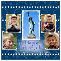 "Scrapbook template ""Independence Day #6"" in ""Independence"""