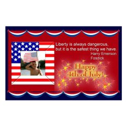 "Scrapbook template ""Independence Day Card #7"" in ""Independence"""