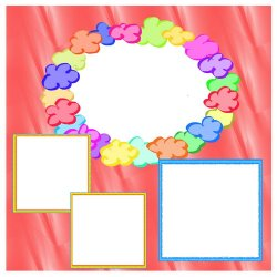 "Scrapbook template ""Pink (backgrounds) #15"" in ""Backgrounds"""