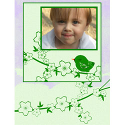 "Scrapbook template ""Spring #30"" in ""Spring"""