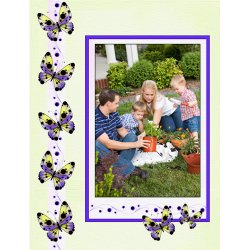 "Scrapbook template ""Summer #11"" in ""Summer Vacation"""