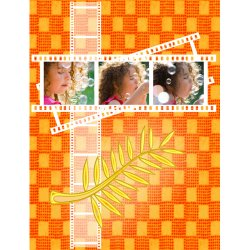 "Scrapbook template ""Cinema #01"" in ""Fan Pages"""
