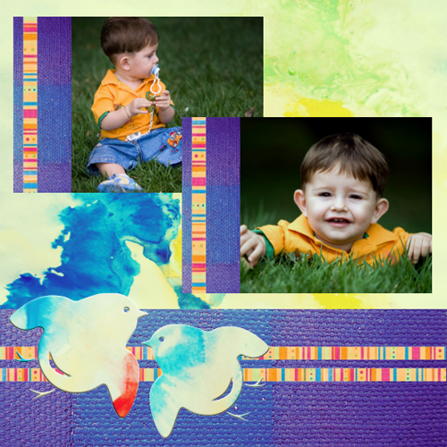"Scrapbook template ""Spring #39"" in ""Spring"""