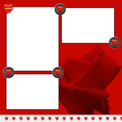 "Scrapbook template ""Annette Farrelly - Be My Valentine #1"" in ""St Valentine"""