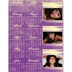 "Scrapbook template ""Calendar2009 #01"" in ""Calendars 2009"""