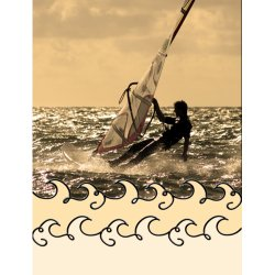 "Scrapbook template ""Water Activities #11"" in ""Hobbies"""