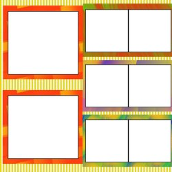 "Scrapbook template ""Rainbow (backgrounds) #17"" in ""Backgrounds"""