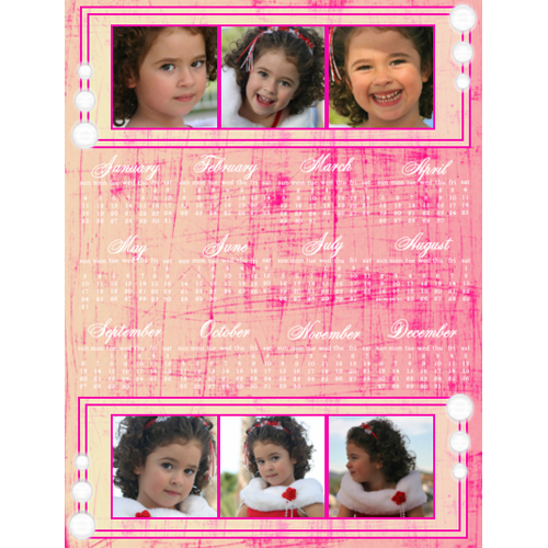 "Scrapbook template ""Calendar2009 #09"" in ""Calendars 2009"""