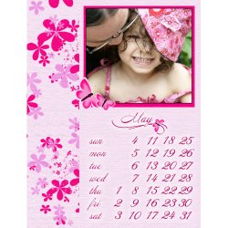 "Scrapbook template ""May2008 #04"" in ""Calendars 2008"""