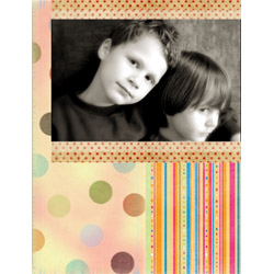 "Scrapbook template ""Friends #22"" in ""Friends Scrapbooking"""