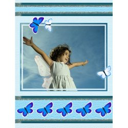 "Scrapbook template ""Spring #14"" in ""Spring"""