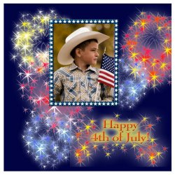 "Scrapbook template ""Independence Day #10"" in ""Independence"""