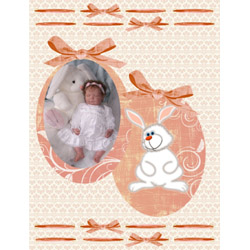 "Scrapbook template ""Easter #31"" in ""Easter"""