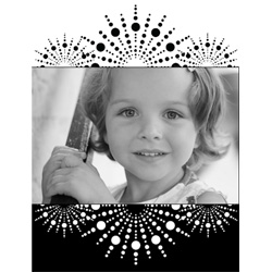 "Scrapbook template ""Black&White #17"" in ""Black&White"""