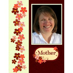 "Scrapbook template ""Mothers Day #18"" in ""Mother`s Day"""