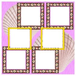 "Scrapbook template ""Pink (backgrounds) #13"" in ""Backgrounds"""
