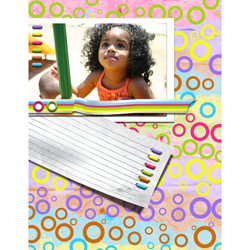 "Scrapbook template ""Playground #11"" in ""Family"""