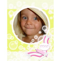 "Scrapbook template ""Baby firsts#07"" in ""Firsts"""
