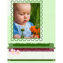 "Scrapbook template ""Spring #11"" in ""Spring"""