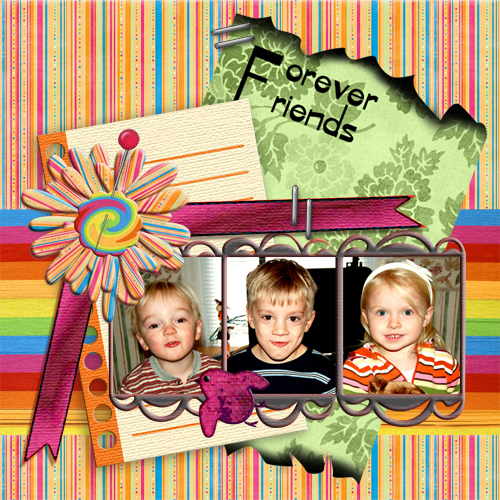 "Scrapbook template ""Family #02"" in ""Family"""
