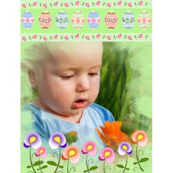 "Scrapbook template ""Easter #15"" in ""Easter"""