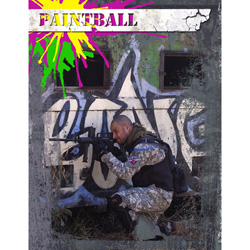 "Scrapbook template ""Paintball #09"" in ""Sport"""