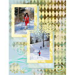 "Scrapbook template ""Winter 2011 #17"" in ""Seasonal"""