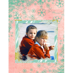 "Scrapbook template ""Friends #39"" in ""Friends Scrapbooking"""