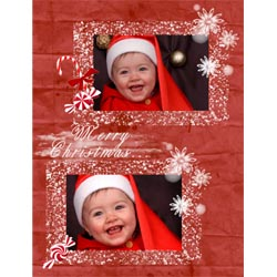 "Scrapbook template ""Christmas 2009 #10"" in ""Christmas Scrapbooking"""