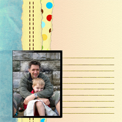 "Scrapbook template ""Family #20"" in ""Family"""