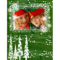 "Scrapbook template ""Christmas 2009 #02"" in ""Christmas Scrapbooking"""