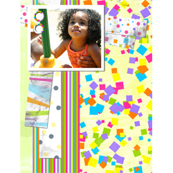 "Scrapbook template ""Playground #09"" in ""Family"""