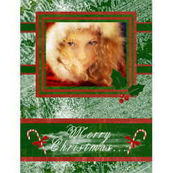 "Scrapbook template ""Christmas 2009 #04"" in ""Christmas Scrapbooking"""