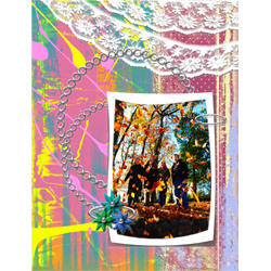 "Scrapbook template ""Teenagers #03"" in ""Teenagers"""