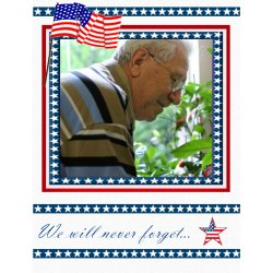 "Scrapbook template ""Memorial Day #19"" in ""Memorial Day"""