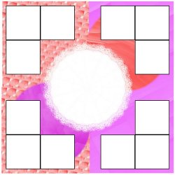 "Scrapbook template ""Pink (backgrounds) #26"" in ""Backgrounds"""
