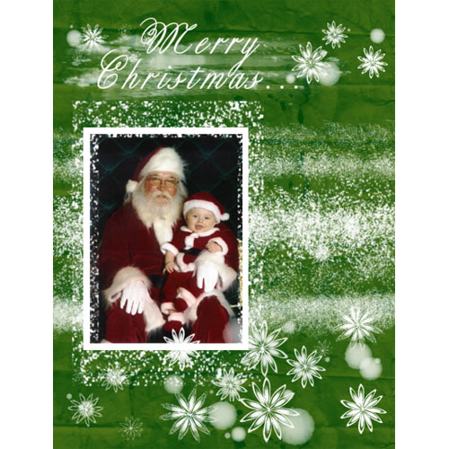 "Scrapbook template ""Christmas 2009 #20"" in ""Christmas Scrapbooking"""