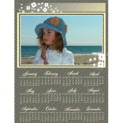 "Scrapbook template ""Calendar2009 #03"" in ""Calendars 2009"""