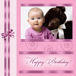"Scrapbook template ""Birthday #04"" in ""Birthday Scrapbooking"""