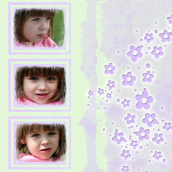 "Scrapbook template ""Spring #31"" in ""Spring"""