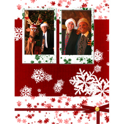 "Scrapbook template ""Christmas 09 #09"" in ""Christmas Scrapbooking"""