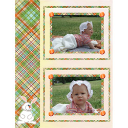 "Scrapbook template ""Easter #35"" in ""Easter"""